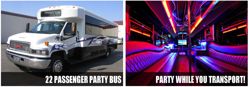 Airport Transportation party bus rentals milwaukee