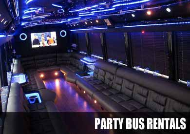 Wedding Party Bus in milwaukee