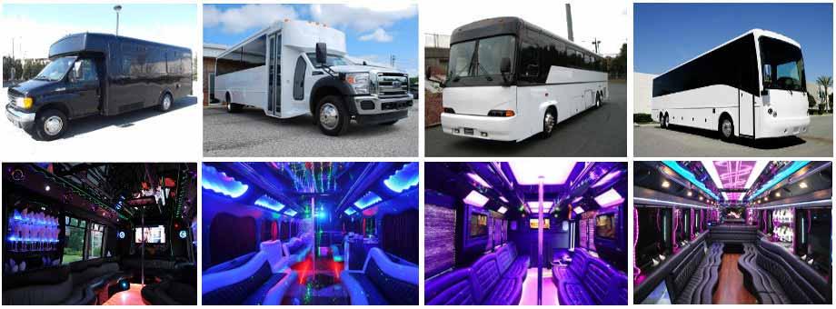 Wedding Party buses milwaukee
